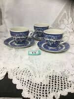 Old Willow Blue & White 3 C Cup And Saucer