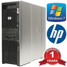 Estación de trabajo HP Z600 2x Xeon X5675 Hex Core 3.06GHz 12 núcleos 32GB DDR3 Ram 2TB HDD