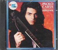 """PAOLO CARTA - RARO CD FUORI CATALOGO 1990 CELOPHANATO """" DOMANDE """""""