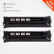 2PK CE320A 128A BLACK COMPATIBLE Toner For HP LaserJet Pro CM1415FNW CP1525NW