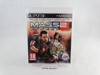 MASS EFFECT 2 SONY PS3 PLAYSTATION 3 PAL EU EUR ITA ITALIANO NUOVO SIGILLATO