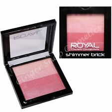Royal Shimmering Blusher Brick Stripy Blush & Highlighter Contour Pink Shimmer