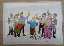 Belgium 1991/1992 Tintin Ltd Edition POSTOGRAM by Belgian Postal Services - Mint