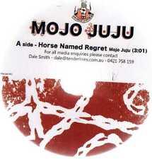MOJO JUJU - HORSE NAMED REGRET - OZ 1 TRK PROMO CD(R) - CLEAR PLASTIC SLEEVE