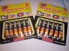 Super Glue Lot of 120 Tubes home jewelry repair fix wood glass office Free Ship