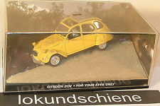 Citroen 2CV   .  007 James Bond  .. 1:43 .. A945 In tödlicher Mission