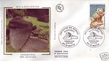 2988  FDC ENVELOPPE 1er JOUR SOIE  GUADELOUPE