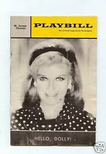 """Vintage PLAYBILL """"HELLO DOLLY"""" Starring: Ginger Rogers, 1966"""