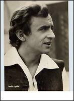 DDR Starfoto Fernsehen Film Schauspieler Actor 1969 Porträt-AK Istvan Iglodi