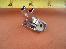Metal Invisible Concealed Zipper Presser Foot Bernina Bernette Pfaff Viking Elna