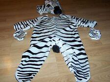 Baby Infant Size 18-24 Months Underwraps Zebra Horse Halloween Costume EUC