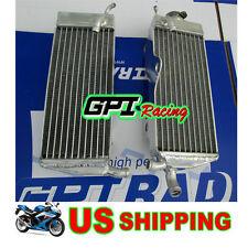 R&L aluminum radiator Honda CR250 CR250R CR 250 R 1988 1989 88 89