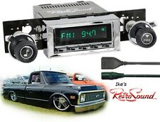 RetroSound CHEVY/GMC/Scout TRUCKS Hermosa-C Radio/RDS/USB/Mp3/3.5mm AUX-IN