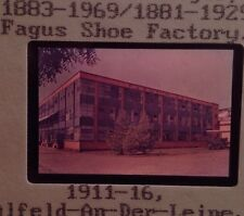 Walter Gropius & Meyer-Fagus Shoe Factory Bauhaus Architecture 35mm Slide