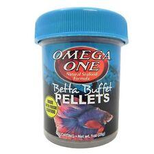 Omega One* Betta Buffet Pellets Betta Food 28  g