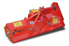 More details for mist132 - italian flail mower - 1.32m wide - for compact tractors