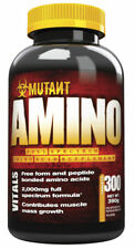PVL Mutant Whey Amino Acids & BCAA 300 Tabs Muscle Mass Gain