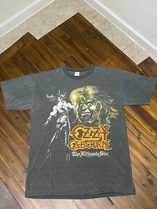 Vintage Ozzy Osbourne 1986 The Ultimate Sin Band T shirt Single Stitch