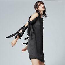 WAREHOUSE Black Tie Sleeve Dress Sizes 6 & 8 RRP £69