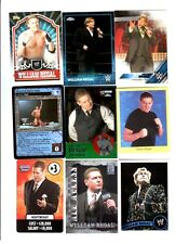 William Regal Wrestling Lot of 9 Different Trading Cards WWE TNA WR-F1