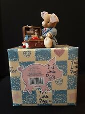 Enesco This Little Piggy Pig Business 1995 With Box