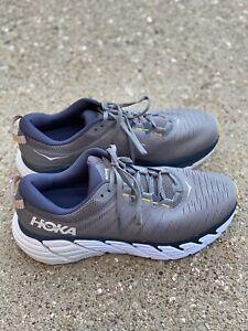 Hoka One One Gaviota 3 Men's Size US 12 EE Charcoal Gray/Ombre Blue Running Shoe