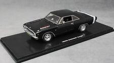 Highway 61 Dodge Dart in Black 1968 43000 Hand Made Resin 1/43 NEW