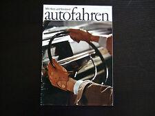 Prospekt NSU Prinz Spider / Sport Coupe 4 1000S 110  TT 1967 · 30x24cm 20 Seiten