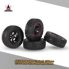 4Pcs AUSTAR AX-3020B 1.9 Inch 103mm  1/10 Scale RC Tires with Wheel Rim Y4Z5