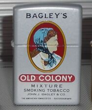 Zippo Lighter Bagley's - tobacco Tin series-limited 75 only made * Mega rar *