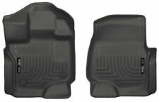 Husky Liners 18361 Front Floor Liners 2015-2018 Ford F-150 SuperCrew Cab Pickup