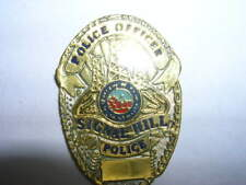 PIN'S  POLICE  USA  /  POLICE  / SIGNAL HILL  /  RARE