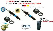 2X FRONT SHOCK ABSORBERS + MOUNTINGS for VW BEETLE 2.5 2011->on