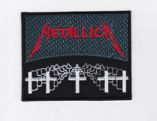 METALLICA     PATCH   ECUSSON  Patch thermocollant MASTER OF PUPPETS