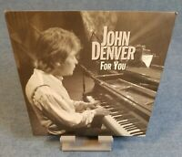 JOHN DENVER: 45 Record (FOR YOU / ROCKY MOUNTAIN HIGH) OLD STOCK NEVER PLAYED!!!