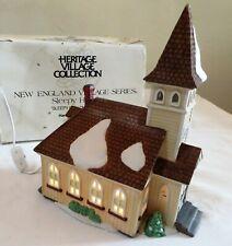 Sleepy Hollow Church Dept 56 #5955-2 Heritage Village New England Box & Cord