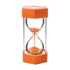 Large Sand Egg Hourglass Timer 10 Minute SEN ADHD ASD Teacher Cooking Orange
