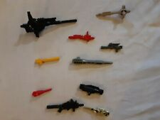 Vintage G1 TRANSFORMERS Weapon Armor Lot OF 10 1980'S lot # 7