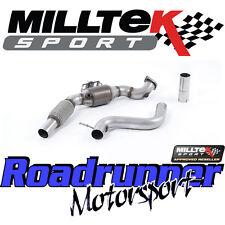 Milltek ford Mustang 2.3 EcoBoost 2015 en el flujo de Hi Deportes Cat Bajante largebore
