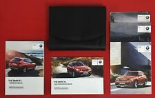 2013 2014 BMW X1 Owners Manual Set w/NAV 2013 - 2014 BMW X1 Owner's Manual F48