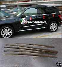 cover cornici 6 raschiavetri finestrini in acciaio cromo Mercedes GLK X204