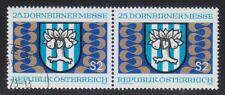 Austria 1973 MNH & CTO NH Mi 1417 Sc 945 Dornbirn Trade Fair
