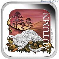 2013 AUSTRALIA FOUR SEASONS AUTUMN 1oz Silver Proof Coin