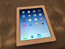 Apple iPad 4th Gen 16GB Wi-Fi + Cellular Verizon 9.7in White MD525LL A1460 +NICE