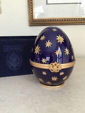 Faberge Ltd. Ed. Millennium Egg Limoges Blue Galaxie Galaxy 5/500 In Box! Rare!