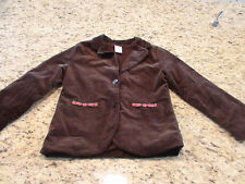 Girls Corduroy Jacket Size 5-6 by Gymboree EUC
