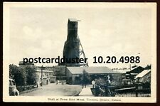 4988 - TIMMINS Ontario Postcard 1930s Shaft at Dome Gold Mines by PECO