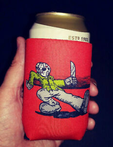 Horror Koozie - Keep on Campin'  -Jason Voorhees Truckin' Friday the 13th Movies