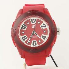 NEW Tendence XL Rainbow Watch Cherry Hi-Tech Polycarbonate Quartz 02013056 50m