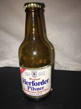 Herforder Pilsner German Lager beer bottle